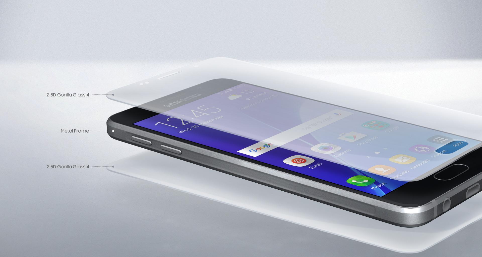 Design nového Samsung Galaxy A3 A310F se nese v duchu vlajkového modelu Samsung Galaxy S6