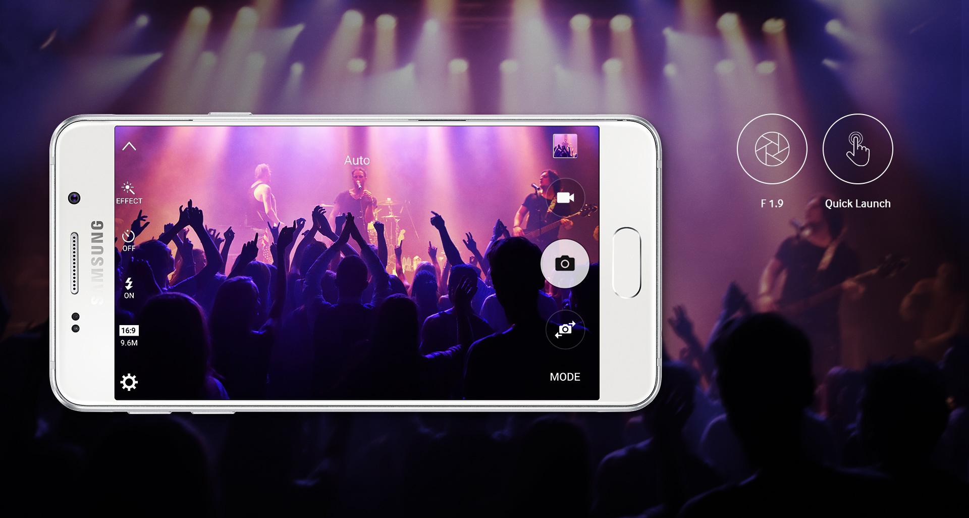 Skvělé fotoaparáty novinky Galaxy A3 vás uchvátí svou kvalitou