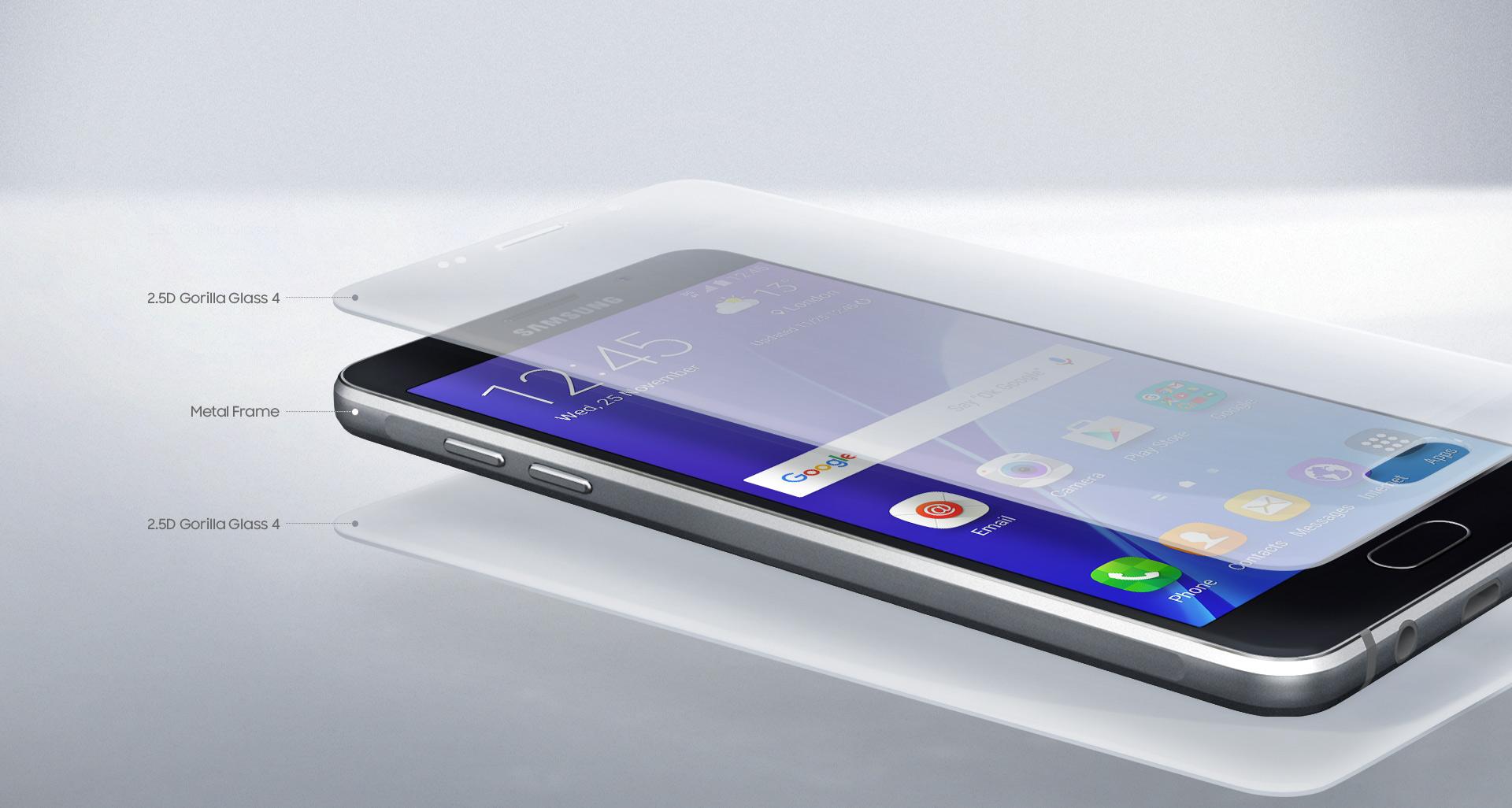 Kvalitní konstrukce smartphonu Samsung Galaxy A5 A510F