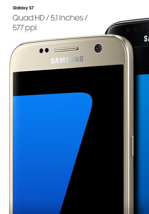 Luxusní displej s AMOLED displejem Samsung Galaxy S7