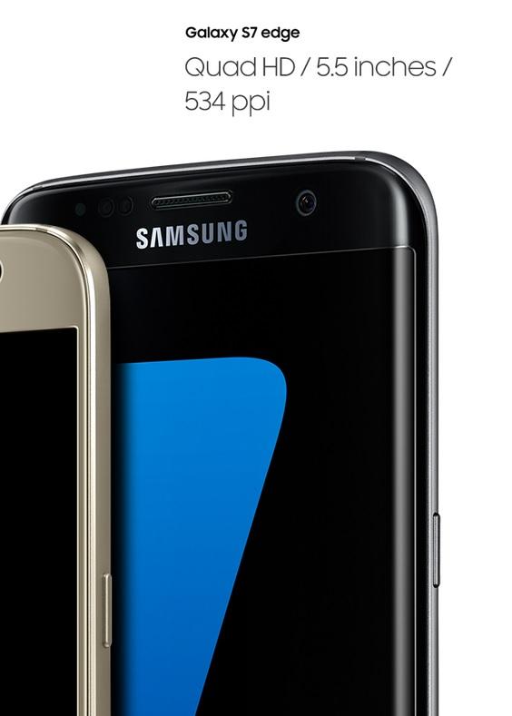 Displej nového SAmsung Galaxy S7 Edge