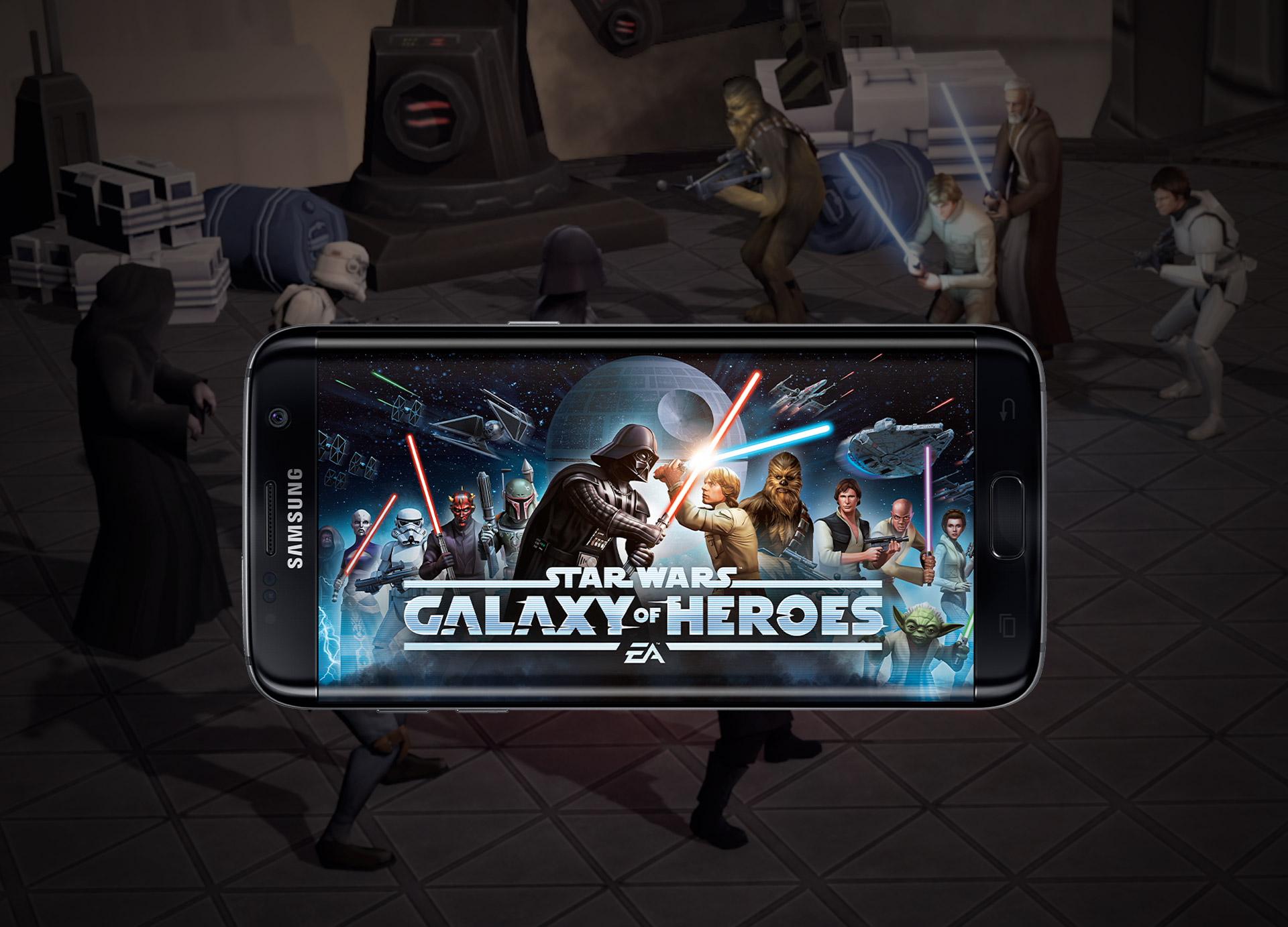 Ani hraní her nepředstavuje žádný problém pro Galaxy S7