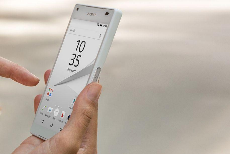 Krásný IPS LCD displej s HD rozlišením, Sony Xperia Z5 Compact