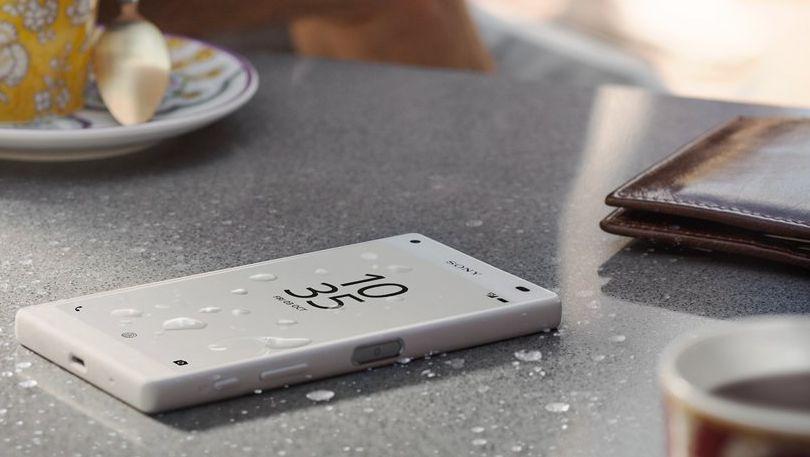 Voděodolné tělo novinky Sony Xperia Z5 Compact