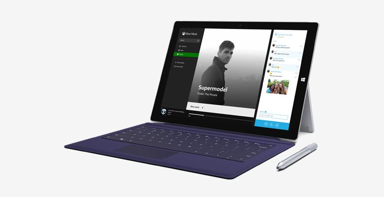 Surface Pro 3 tablet, který nahradí vaše PC.