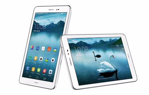 Nádherné zpracování Huawei předvádí na hliníkovém těle tabletu Huawei Mediapad T1.