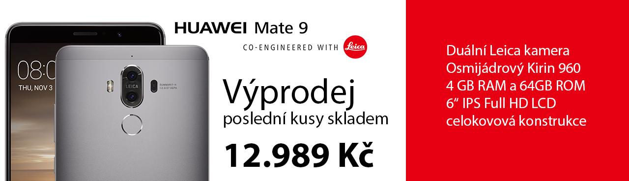 Poslední šance na nákup Huawei Mate 9