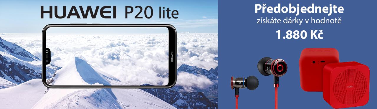 Předojednávka Huawei P20 Lite s luxusními dárky ZDARMA