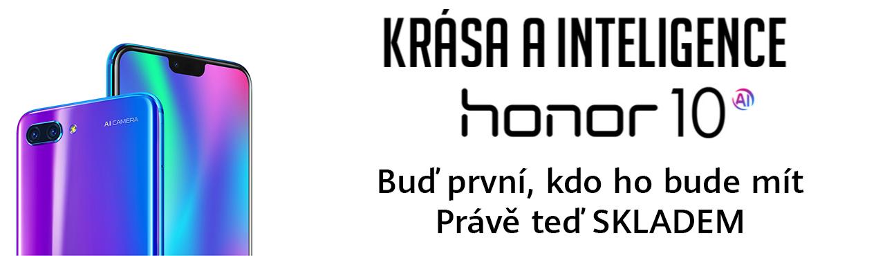 Honor 10 s umělou inteligencí exkluzivně skladem