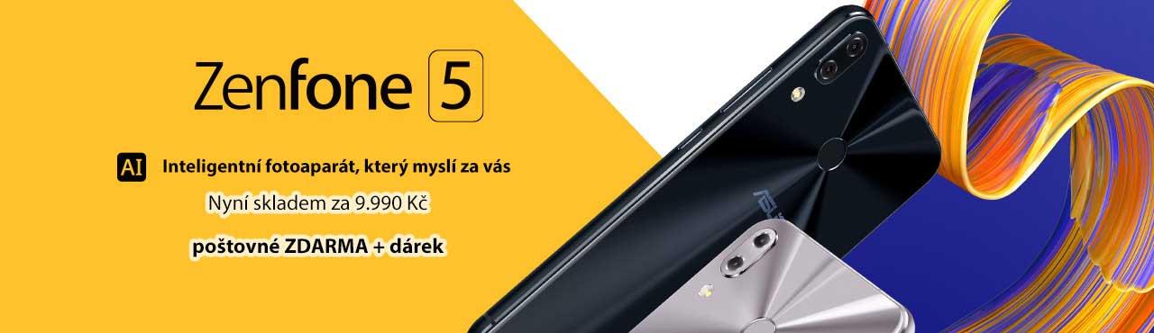 Zenfone 5 s inteligentní kamerou, která myslí za vás