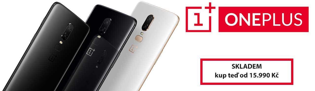Spojení elegance, výkonu a neuvěřitelné ceny to je OnePlus 6