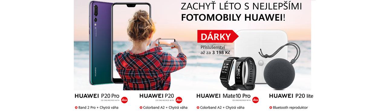 Léto s Huawei bude našlapané hodnotnými dárky, no vážně!