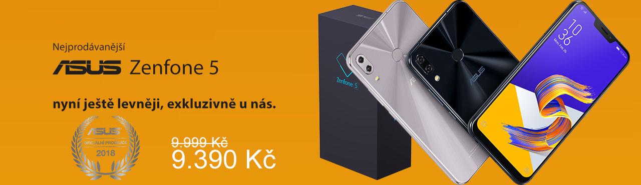 Nový Zenfone 5 s umělou inteligencí nyní koupíte ještě levněji
