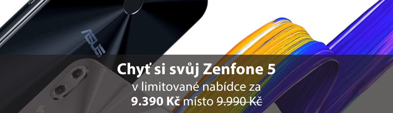 Limitovaná akce na Zenfone 5 - chyť si svůj
