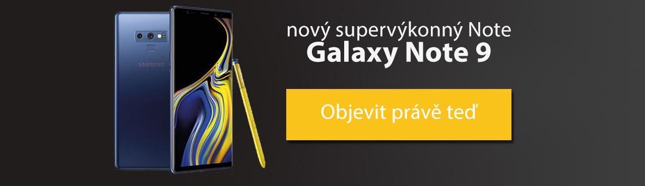 Objevte novou nepoznanou Galaxii. Nový supervýkonný Note