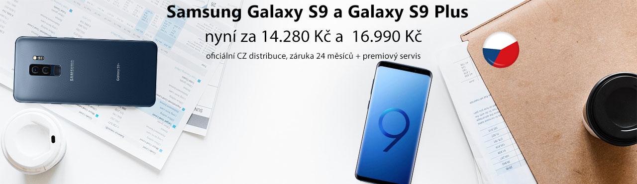 Exkluzivní nabídka Galaxy S9 a S9 Plus z CZ distribuce