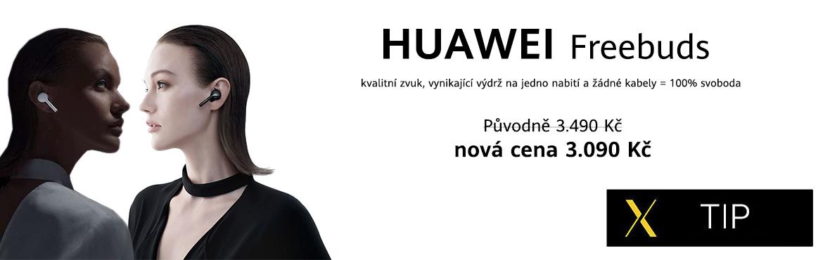 Huawei Freebuds - vyzkoušejte svobodu