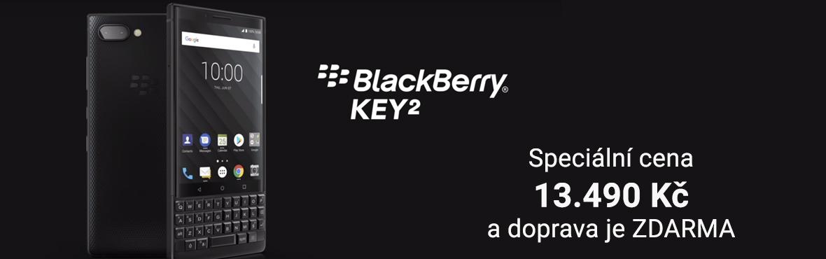 Manažerské BlackBerry Key 2 nyní za speciální cenu