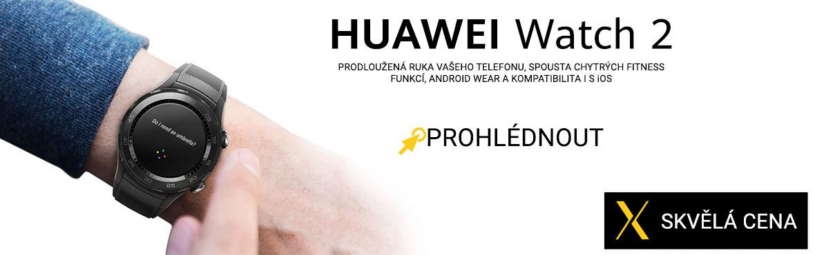 Huawei Watch 2 nyní za výhodnou cenu