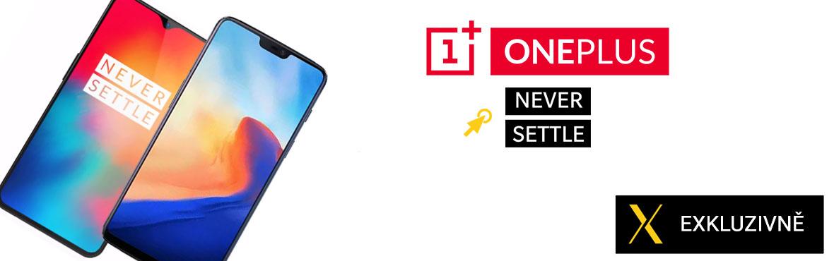 Exkluzivně u nás nabídka smartphonů OnePlus