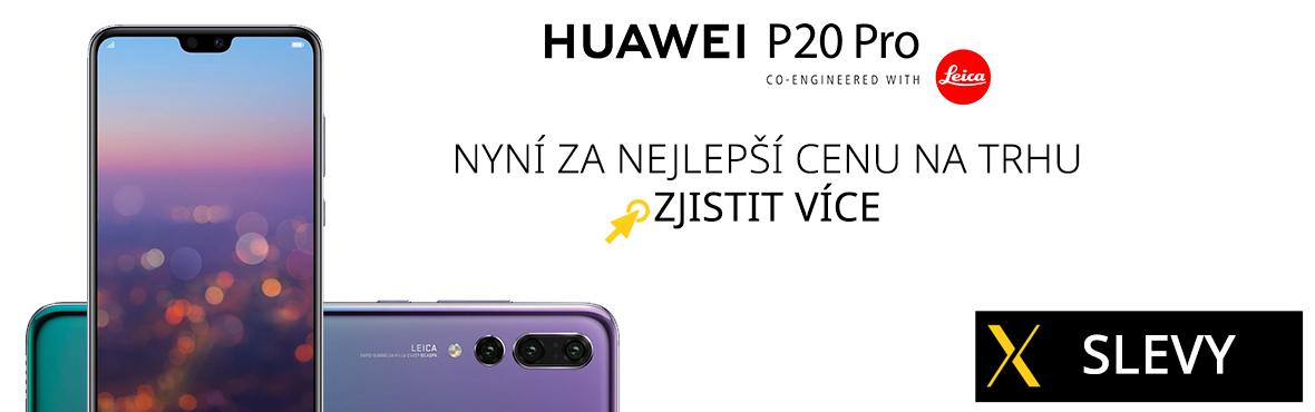 Jedině u nás nyní pořídíte Huawei P20 Pro za nejlepší cenu