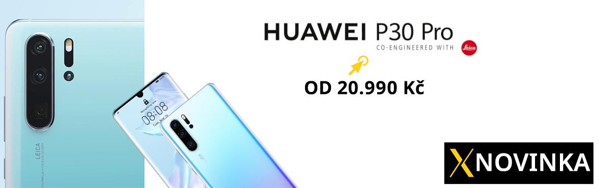Huawei P30 Pro právě teď skladem
