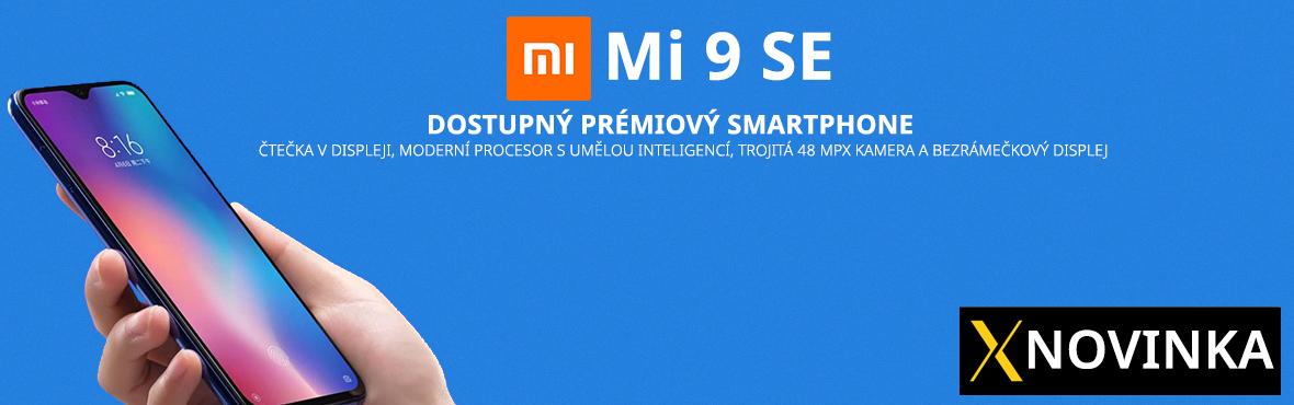 Dostupný prémiový smartphone Xiaomi Mi 9 SE právě teď skladem