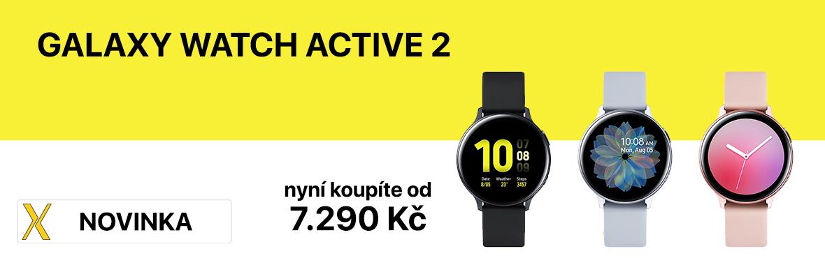 Nové Galaxy Watch Active 2