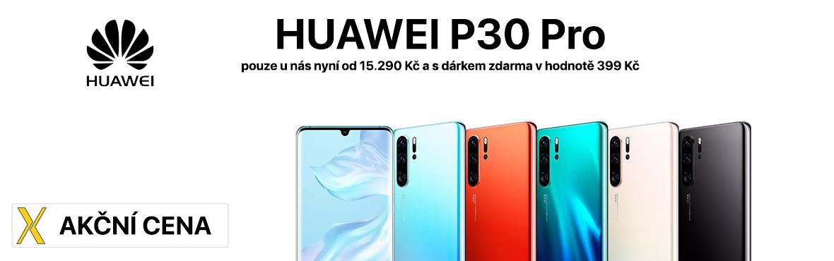 Huawei P30 Pro nyní v akční nabídce za nejlepší cenu