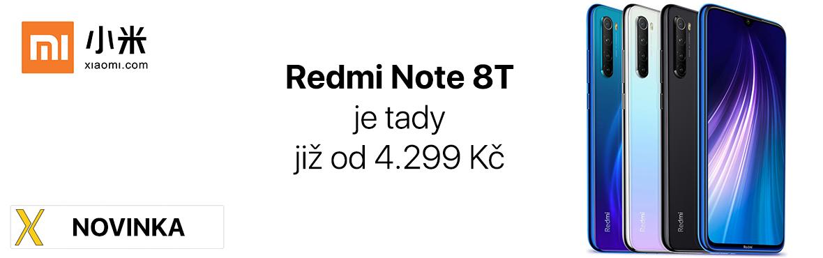 Konečně je to tady, nový Redmi Note 8T