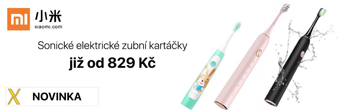 Chytré sonické elektrické zubní kartáčky Xiaomi