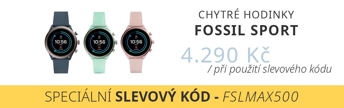 Fossil Sport se systémem Wear OS za nejlepší cenu