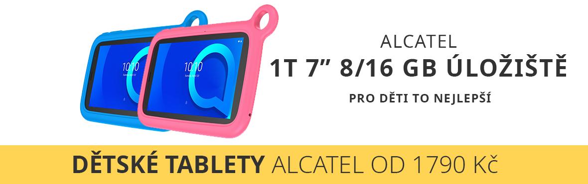Dětské tablety Alcatel 1T spolehlivě zaženou nudu v karanténě