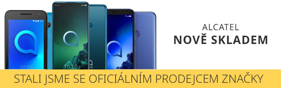Jsme oficiální prodejce mobilních telefonů Alcatel