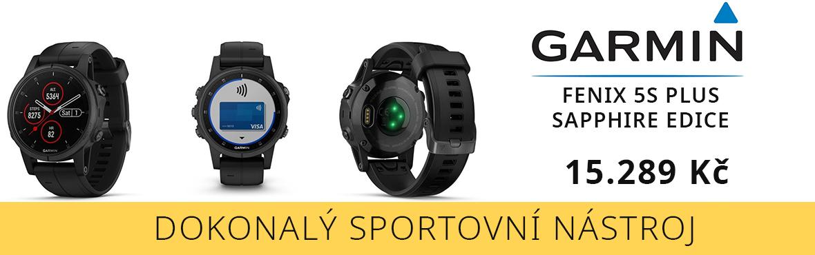 Profesionální sportovní chytré hodinky Garmin za nejnižší cenu
