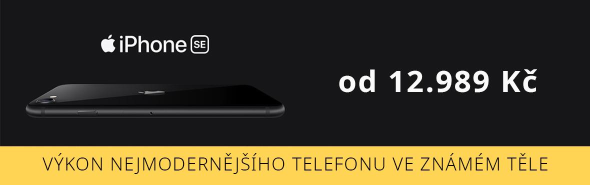 Jedinečný Apple design s nejvyšším výkonem - iPhone SE 2020