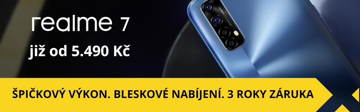 REALME 7 je luxus za dostupnou cenu