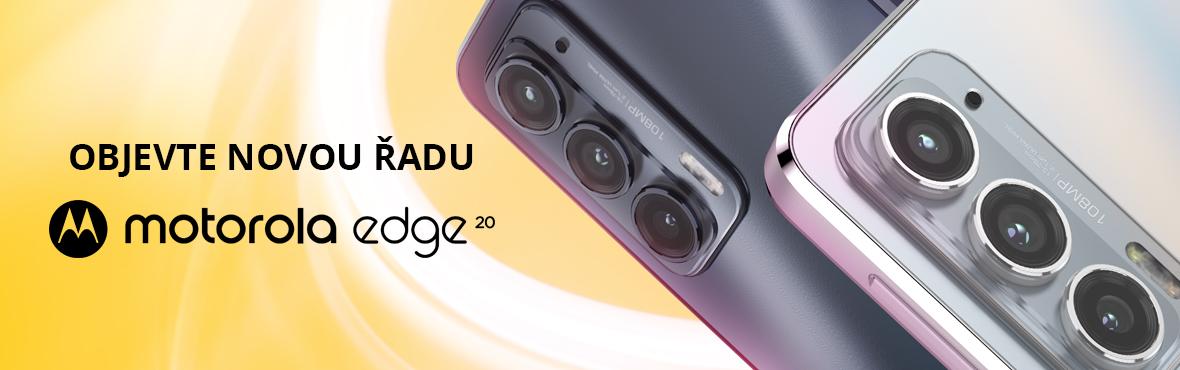 Nové moderní Motorola EDGE 20 právě teď skladem