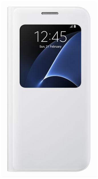 Pouzdro Samsung EF-CG930PW bílé pro Samsung Galaxy S7