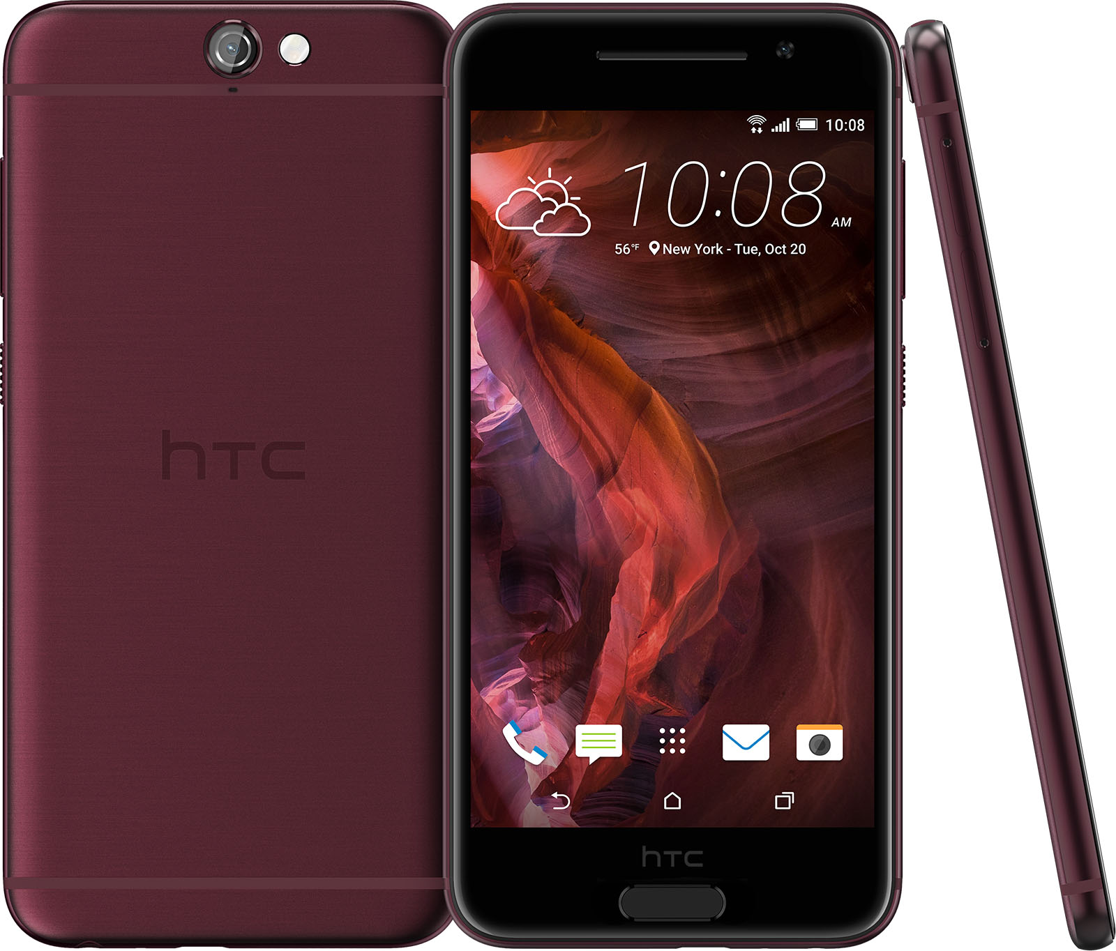 HTC One A9 Deep red