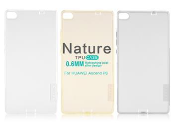 Pouzdro Nillkin Nature TPU Huawei P9 Lite šedé