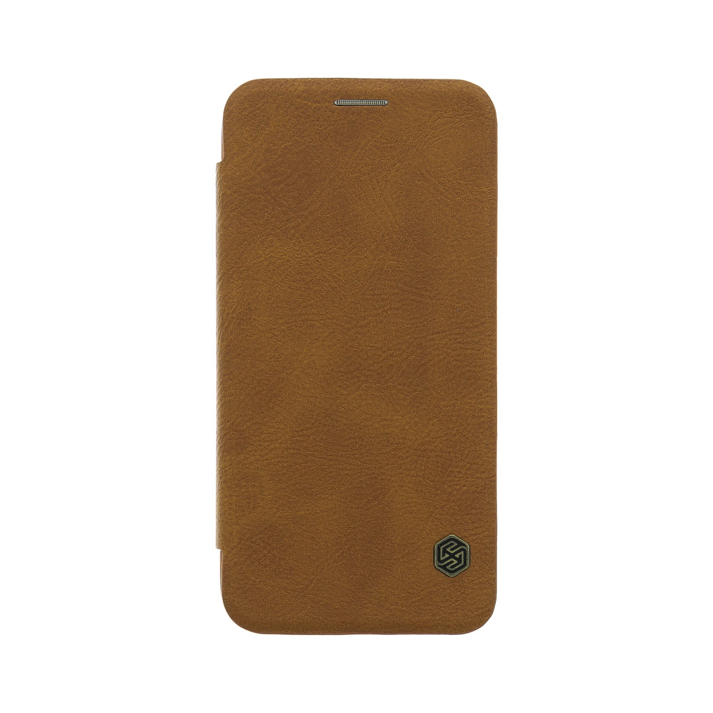 Nillkin Qin Book Pouzdro Brown pro Samsung G930F Galaxy S7