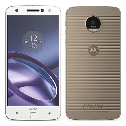 Motorola XT1650 Moto Z Dual SIM 32GB White Fine Gold