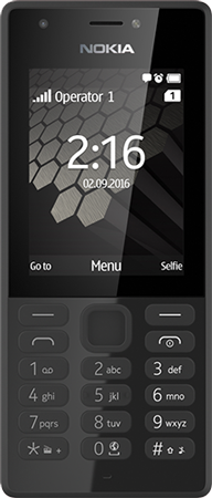 Nokia 216 Dual SIM Black