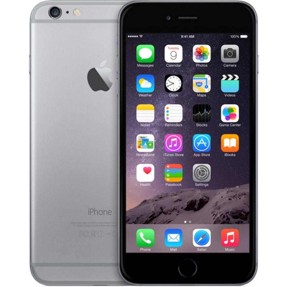 Apple iPhone 6 Plus 16GB Space Grey CPO - 12 měsíců záruka