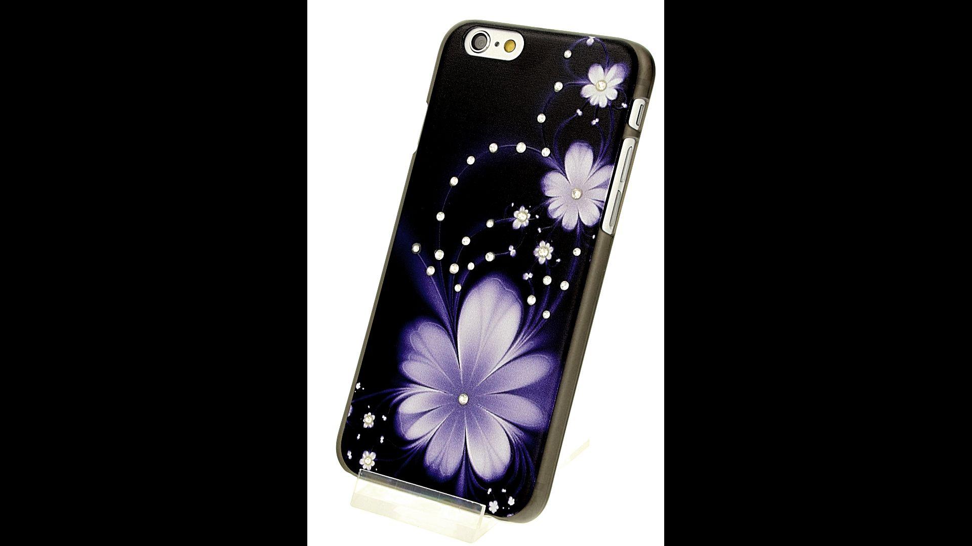 Plastový zadní kryt pro iPhone 6 a iPhone 6S s motivem květiny eace6dafc61