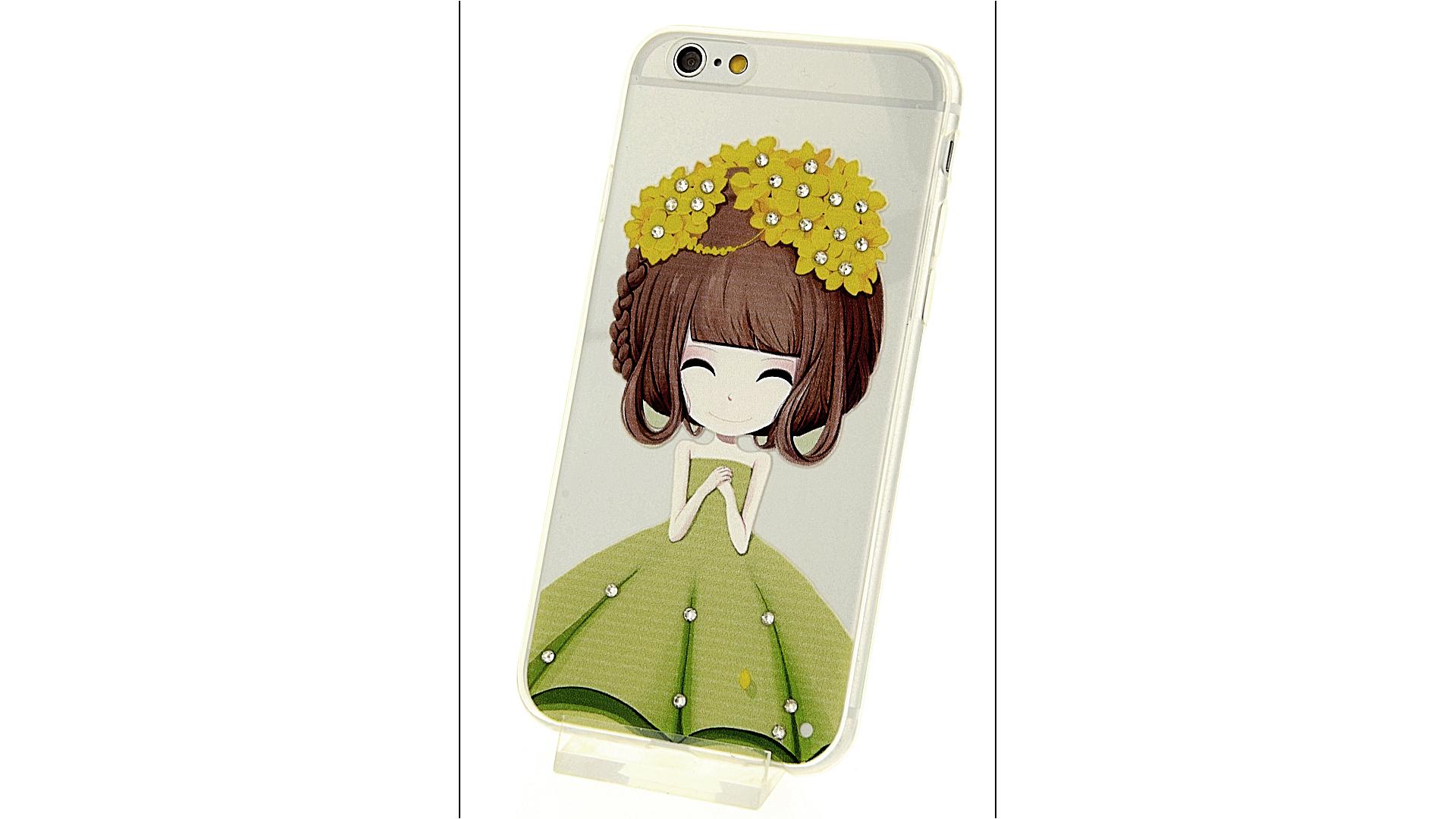 Plastový zadní kryt pro iPhone 6 a iPhone 6S s motivem dívky aceeb02ad15