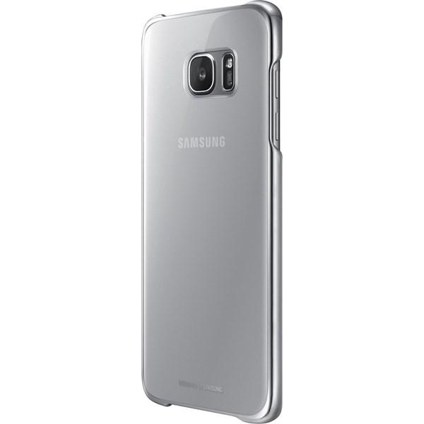 Pouzdro Samsung EF-QG935CS stříbrné pro Samsung Galaxy S7 Edge