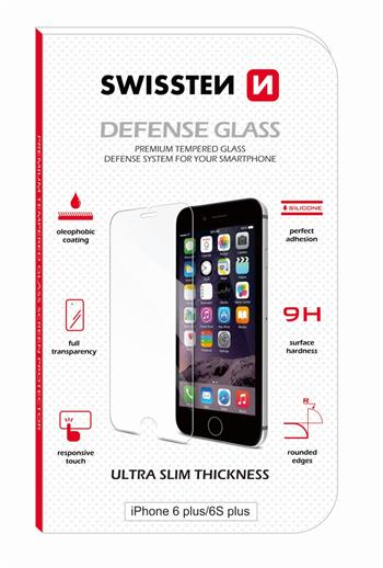 Swissten Tvrzené Sklo 9H pro Apple iPhone 6/6S Plus