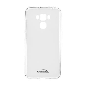 Pouzdro Kisswill TPU ASUS Zenfone 3 MAX ZC553KL čiré